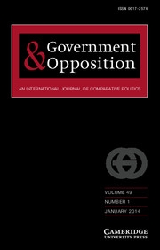 Government and Opposition Volume 49 - Issue 1 -