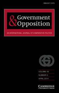 Government and Opposition Volume 49 - Issue 2 -