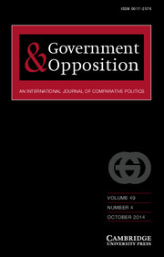 Government and Opposition Volume 49 - Issue 4 -
