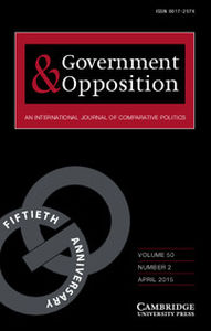 Government and Opposition Volume 50 - Issue 2 -