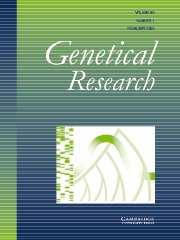 Genetics Research Volume 85 - Issue 1 -