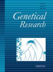 Genetics Research Volume 87 - Issue 2 -