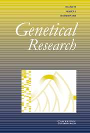 Genetics Research Volume 88 - Issue 3 -