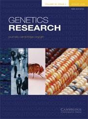 Genetics Research Volume 90 - Issue 4 -
