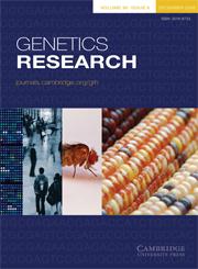 Genetics Research Volume 90 - Issue 6 -