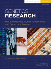Genetics Research Volume 92 - Issue 2 -