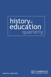 History of Education Quarterly