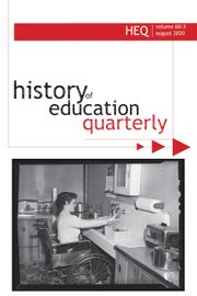 History of Education Quarterly Volume 60 - Special Issue3 -  Disability and the History of Education