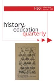 History of Education Quarterly Volume 60 - Issue 4 -