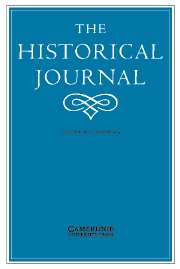 The Historical Journal Volume 47 - Issue 1 -