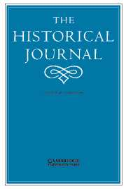 The Historical Journal Volume 48 - Issue 1 -