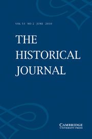 The Historical Journal Volume 53 - Issue 2 -