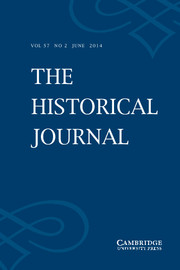 The Historical Journal Volume 57 - Issue 2 -