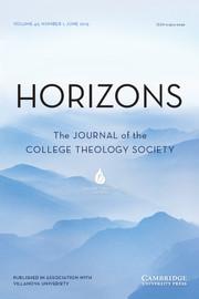 Horizons Volume 42 - Issue 1 -