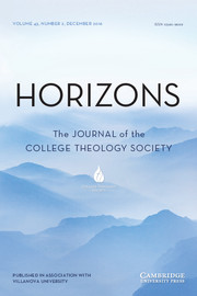 Horizons Volume 43 - Issue 2 -