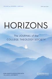 Horizons Volume 44 - Issue  -