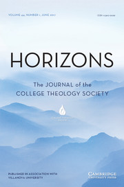 Horizons Volume 44 - Issue 1 -