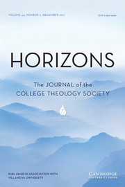 Horizons Volume 44 - Issue 2 -