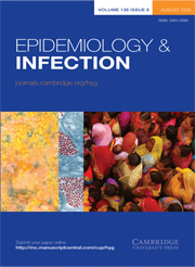 Epidemiology & Infection Volume 136 - Issue 8 -