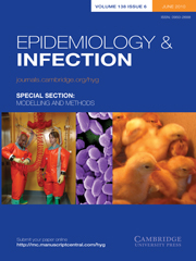 Epidemiology & Infection Volume 138 - Issue 6 -