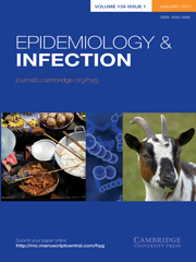 Epidemiology & Infection Volume 139 - Issue 1 -