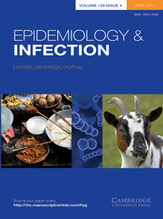 Epidemiology & Infection Volume 139 - Issue 4 -