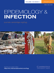 Epidemiology & Infection Volume 140 - Issue 1 -