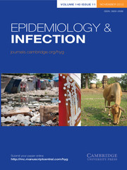 Epidemiology & Infection Volume 140 - Issue 11 -