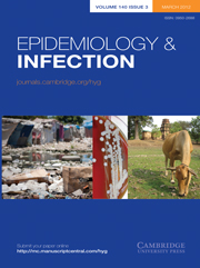 Epidemiology & Infection Volume 140 - Issue 3 -