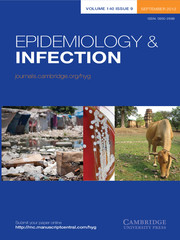 Epidemiology & Infection Volume 140 - Issue 9 -