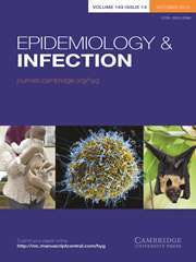 Epidemiology & Infection Volume 143 - Issue 13 -