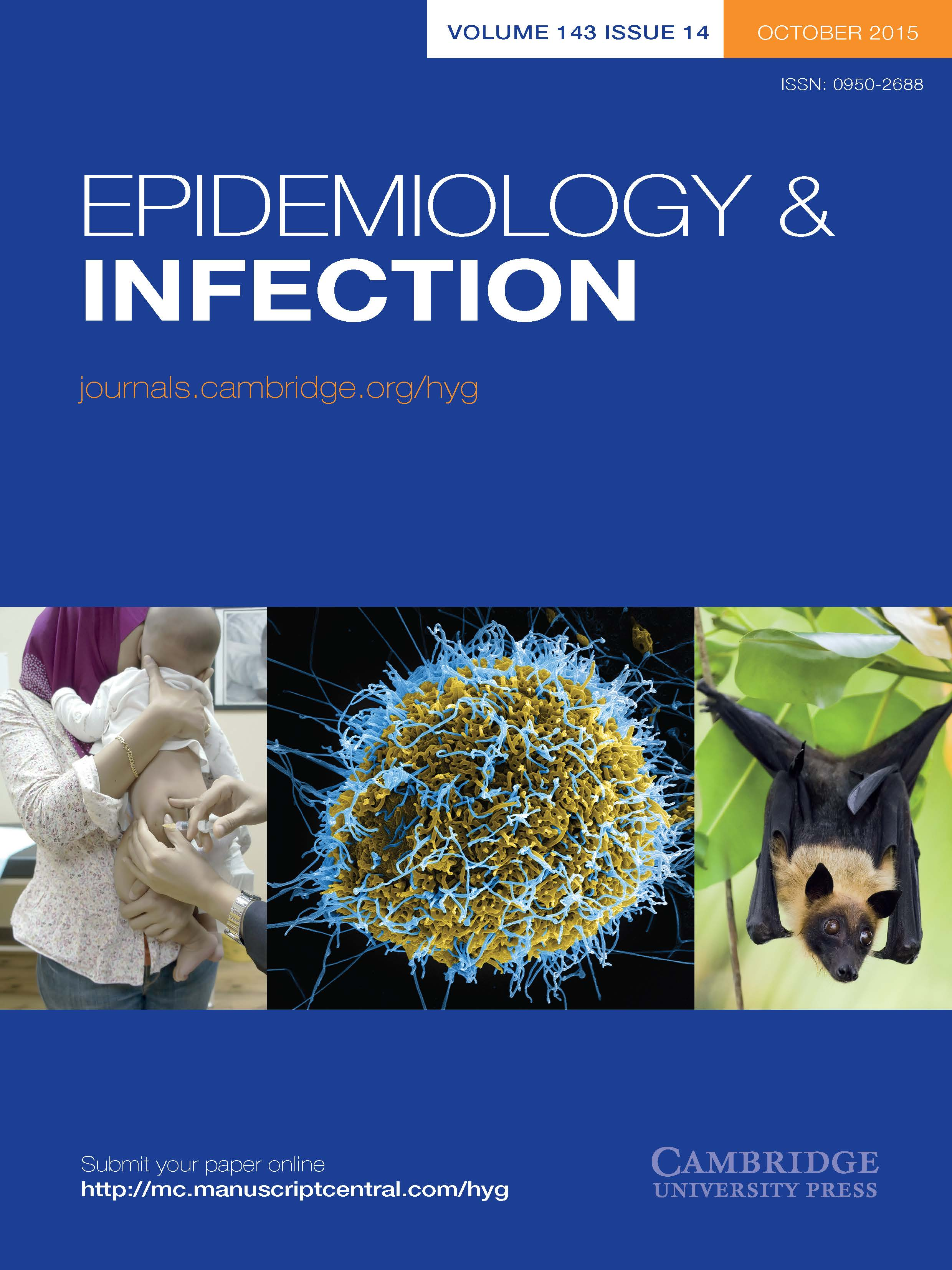 Epidemiology & Infection Volume 143 - Issue 14 -