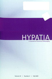 Hypatia Volume 24 - Issue 4 -