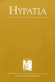 Hypatia Volume 8 - Issue 1 -
