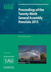 Proceedings of the International Astronomical Union Volume 13 - TransactionsT29B -  Transactions IAU