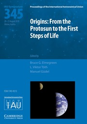 Proceedings of the International Astronomical Union Volume 14 - SymposiumS345 -  Origins: From the Protosun to the First Steps of Life