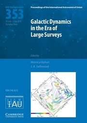Proceedings of the International Astronomical Union Volume 14 - SymposiumS353 -  Galactic Dynamics in the Era of Large Surveys