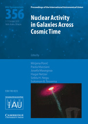 Proceedings of the International Astronomical Union Volume 15 - SymposiumS356 -  Nuclear Activity in Galaxies Across Cosmic Time