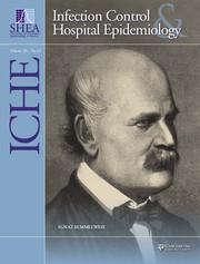Infection Control & Hospital Epidemiology Volume 36 - Supplement12 -