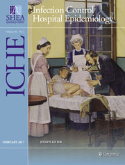 Infection Control & Hospital Epidemiology Volume 38 - Issue 2 -