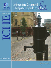 Infection Control & Hospital Epidemiology Volume 39 - Issue 9 -