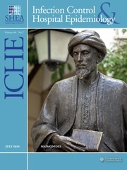Infection Control & Hospital Epidemiology Volume 40 - Issue 7 -