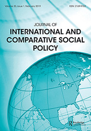Journal of International and Comparative Social Policy Volume 35 - Issue 1 -  SI: Recent Social Policy in Canada and the United States