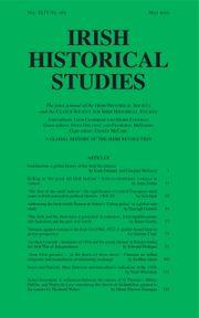 Irish Historical Studies Volume 44 - Issue 165 -