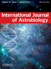 International Journal of Astrobiology Volume 10 - Issue 1 -
