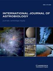 International Journal of Astrobiology Volume 13 - Issue 3 -
