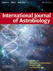 International Journal of Astrobiology Volume 2 - Issue 2 -