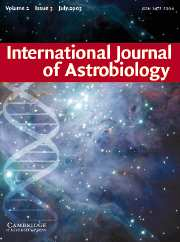 International Journal of Astrobiology Volume 2 - Issue 3 -