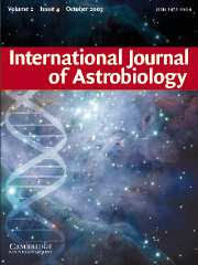 International Journal of Astrobiology Volume 2 - Issue 4 -
