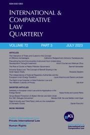 International & Comparative Law Quarterly